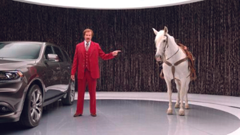 """A series of Dodge Durango commercials featuring actor Will Ferrell as Ron """"Anchorman"""" Burgundy..."""