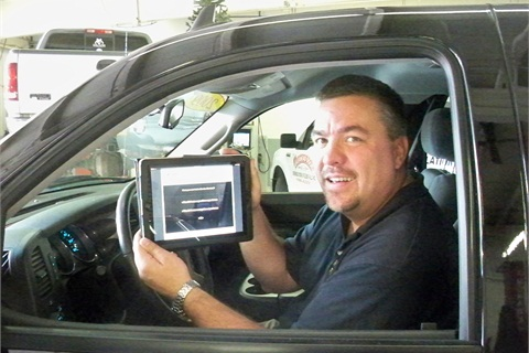 Pictured is Charles Albrecht, finance manager at Nemer Ford in Queensbury, N.Y.