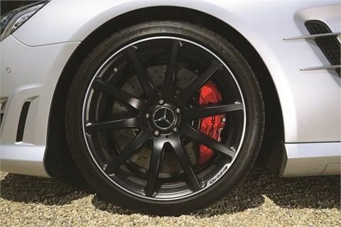 Today's oversize alloy wheels and low-profile tires offer less sidewall to absorb the impact of a road hazard.