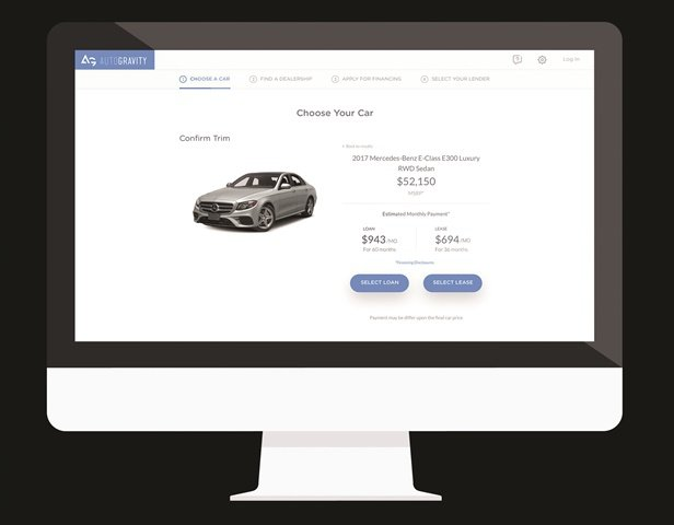 AutoGravity is one of a slew of fintech firms looking to alter how car buyers interact with both dealers and finance sources. With the financial backing of Daimler AG, the Irvine, Calif.-based company was founded in October 2015 by two former employees of Daimler Financial Services.