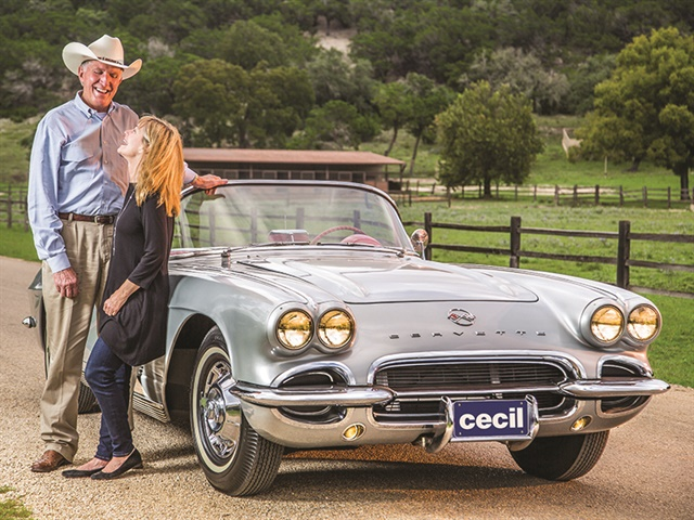 Pictured above is Cecil Atkission, the son of a West Texas cattleman and a Vietnam Veteran. He founded his six-rooftop, seven franchise dealer group more than 30 years ago in Kerrville, Texas.