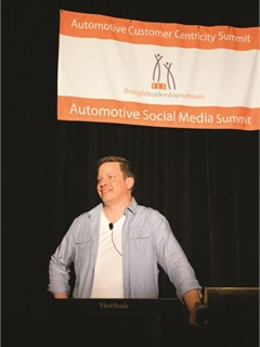 Jason Stum heads up the in-house marketing team at LaFontaine Automotive Group.