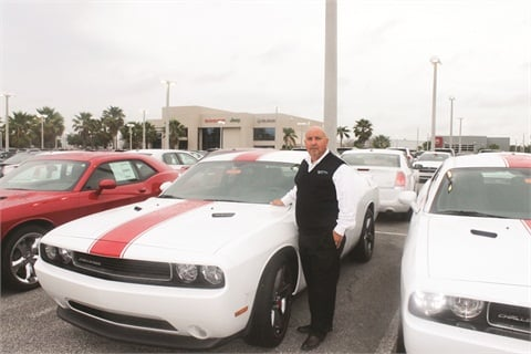Since Ricky Lopez joined Greenway Dodge, sales orginating online jumped from 144 units per year to about 3,300.