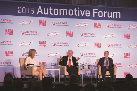 In October 2014, the eyes and ears of high-stakes investors around the world turned to the U.S. automotive retail industry when billionaire Warren Buffet and his investment firm, Berkshire Hathaway, agreed to purchase the Van Tuyl Group in a multibillion-dollar deal. Last March, Buffet headlined the 2015 NADA/J.D. Power Automotive Forum when he took part in a special Q&A session.