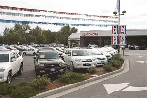 Lithia Toyota of Medford (Oregon) is one of six dealerships the group operates in the city. It's also the first store Lithia purchased outside of the Chrysler brand.