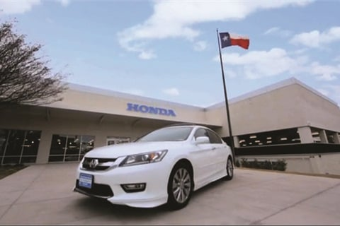 First Texas Honda began toying with the idea of moving to a combined F&I-and-sales process three years ago after it switched to a one-price sales model.