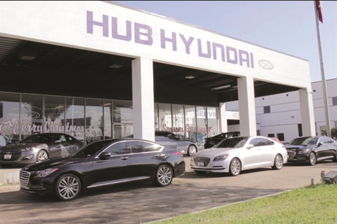 Houston's Hub Hyundai and Hub Mitsubishi operate at the same location but in separate facilities. They are part of Hub Auto Group, which was founded in 1975 by Bob Cox.