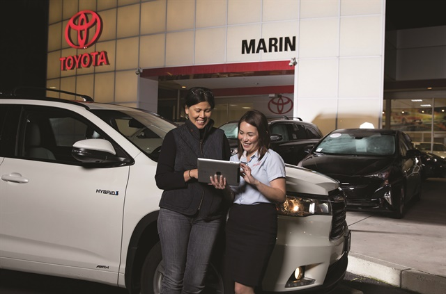 San Francisco-based Roadster launched its Express Storefront digital retailing and financing platform in June 2016. A month later, San Rafael, Calif.-based Toyota Marin became the first dealership to embrace the company's ecommerce solution.