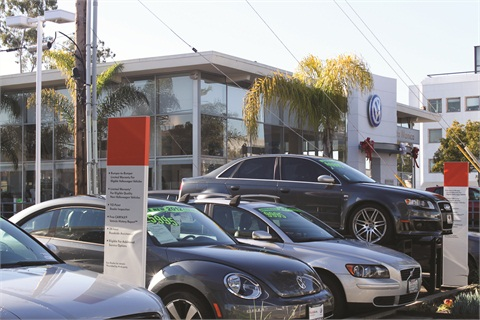 Volkswagen Santa Monica (Calif.) retails 225 new cars per month and 80 used. The beachside dealership has been in operation since 1974.