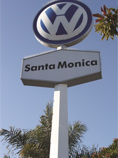Low interest rates last year helped Volkswagen Santa Monica pull skittish consumers off the sidelines.