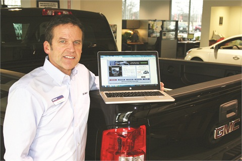 Dealer Bill Marsh Jr. is one of the roughly 400 General Motors dealers currently using the OEM's new Shop-Click-Drive program, an online buying option rolled out in November.