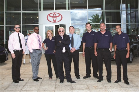 Sun Toyota's I-Team handles, on average, 2,200 to 2,500 phone and online leads per month, with about 60% of those leads converted into appointments.