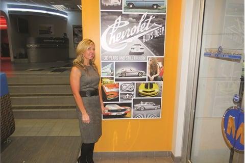 Managing McCluskey Chevrolet's digital marketing efforts is Internet Director Kate Wessendorf.