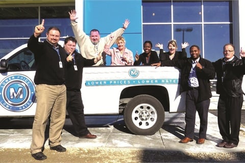 McCluskey's Internet department is successful at converting 11 percent of leads generated by the dealership's mobile site.