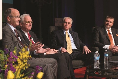During the NADA Leadership Panel, Chairman Forrest McConnell defended the indirect financing channel, saying dealers force lenders to keep rates low.