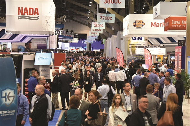More than 500 exhibitors lined the aisles inside the Las Vegas Convention Center for the National Automobile Dealers Association's annual convention and exposition, which was held March 22-25. (Photo Courtesy of NADA)