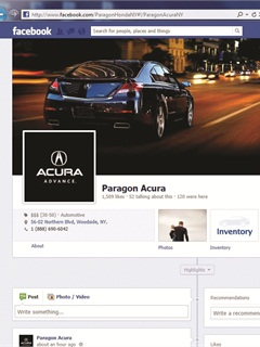 <p>As of June, Paragon Honda and Paragon Acura claimed 3,000 and 1,500