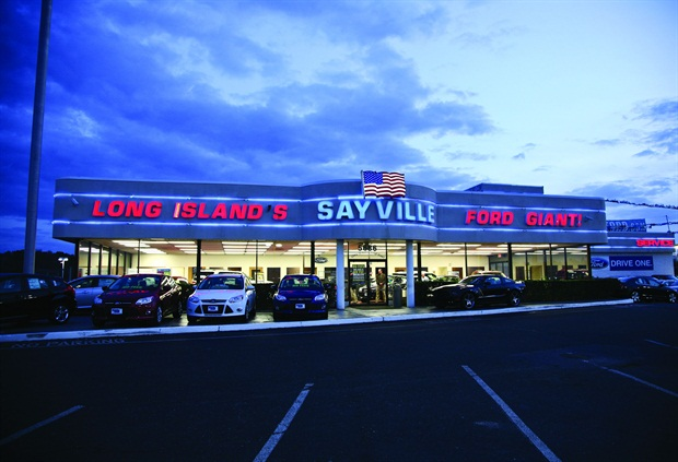 Sayville (N.Y.) Ford was founded in 1957 by Neil Spare Sr. in 1957. First located on Main St. in Sayville, the store was relocated to Sunrise Highway in 1976. Today, it stands as the largest independent Ford dealership in the state of New York.