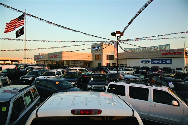 Last year, Sayville Ford sold approximately 1,600 new vehicles and just south of 500 used vehicles out of its 19,000-square-foot facility.