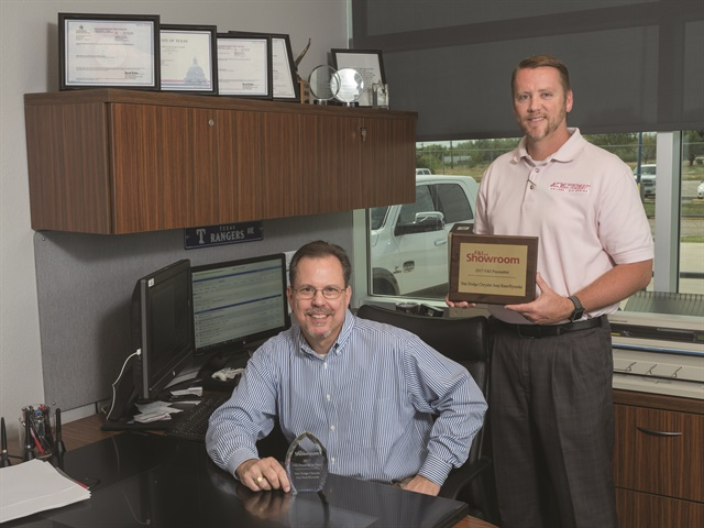 Star's F&I department was averaging about $1,100 per copy when Mike Dunnahoo decided to equip the F&I offices with Reynolds and Reynolds' docuPAD system. The group now averages $1,872 per copy on new vehicles and $1,542 on used. Service contract penetration went from 40% to its current rate of 62%. Acceptance rates are also up for GAP (61%), theft protection (76%), tire-and-wheel (21%), and a bundled appearance product (20%).