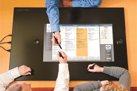 Reynolds' docuPAD includes a customizable menu presentation and document-processing system that plugs into the company's DMS offerings.