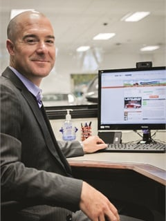 Brendan Harrington, president and general manager of Lexus of Stevens Creek