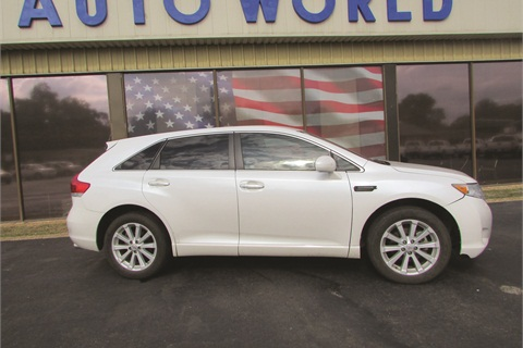 Mansfield Auto World employees were stunned when a 2012 Toyota Venza they sold to an Internet customer turned up on a ship bound for Nigeria. The vehicle was purchased using stolen credit cards.