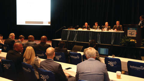"""Moderated by F&I and Showroom's Gregory Arroyo, Industry Summit's 'From the Boardroom"""" panel..."""