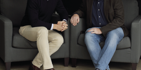 Pictured are Roadster COO Rudi Thun and CEO and founder Andy Moss. The latter was formerly head...