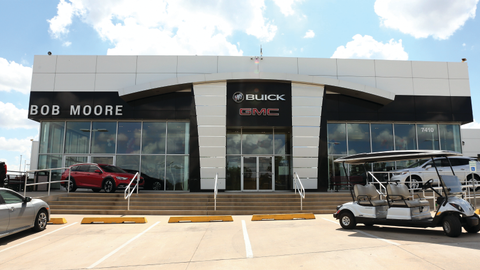 The Oklahoma City dealership is part of the 14-store, Bob Moore Automotive Group, which has two...