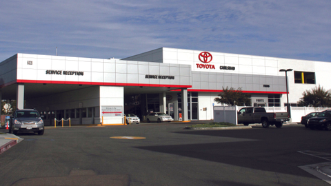 Toyota Carlsbad has received two Notebook leads so far, but officials believe that number will...