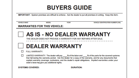Navigating the 'New' Used Car  Buyer's Guide