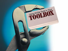 Using All the Tools in Your Toolbox