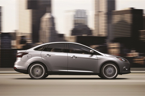In 2012, the Ford Focus replaced the Toyota Corolla as the world's No. 1 selling car. The model, Ziegler says, is on pace to move 250,000 units per year.