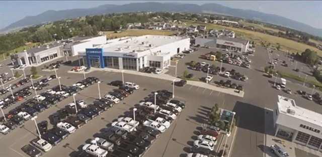 Ressler Motors claims to be the largest volume dealership in the state of Montana. Located on Huffine Lane in the city of Bozeman, the operation represents Chevrolet, Cadillac and Toyota. It also operates a pre-owned store at the same location.