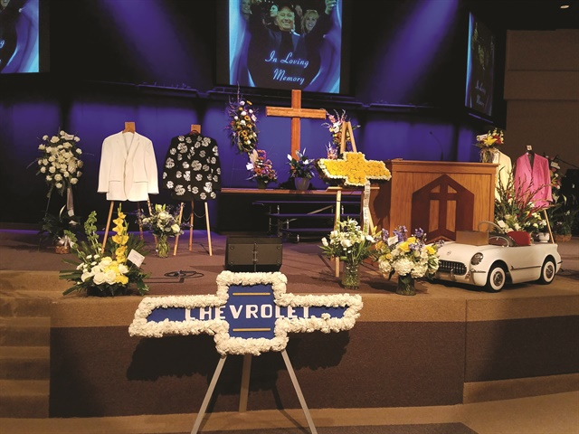 About 1,200 people attended David Ressler's funeral on Nov. 17, 2017. It was held at Grace Bible Church in Bozeman, Mont. Ressler died of a heart attack 10 days earlier. The owner of Ressler Motors was 61.