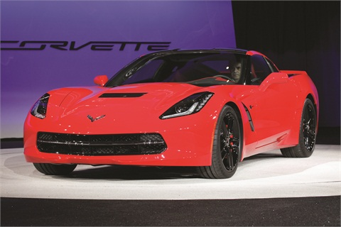 Ziegler has been critical of General Motors in recent months, but he admits the unveiling of the Corvette Stingray left him beaming with delight.