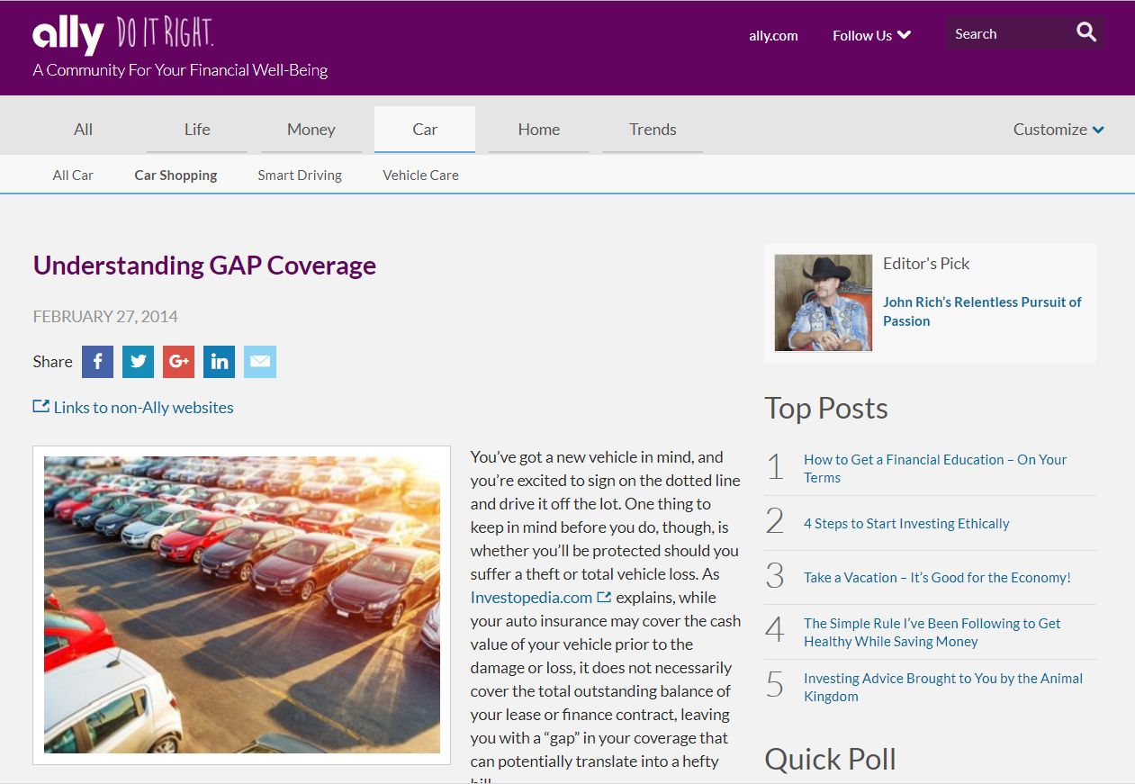 Ally Financial Payoff >> Ally Takes Control Of Gap Refunds F I F I And Showroom