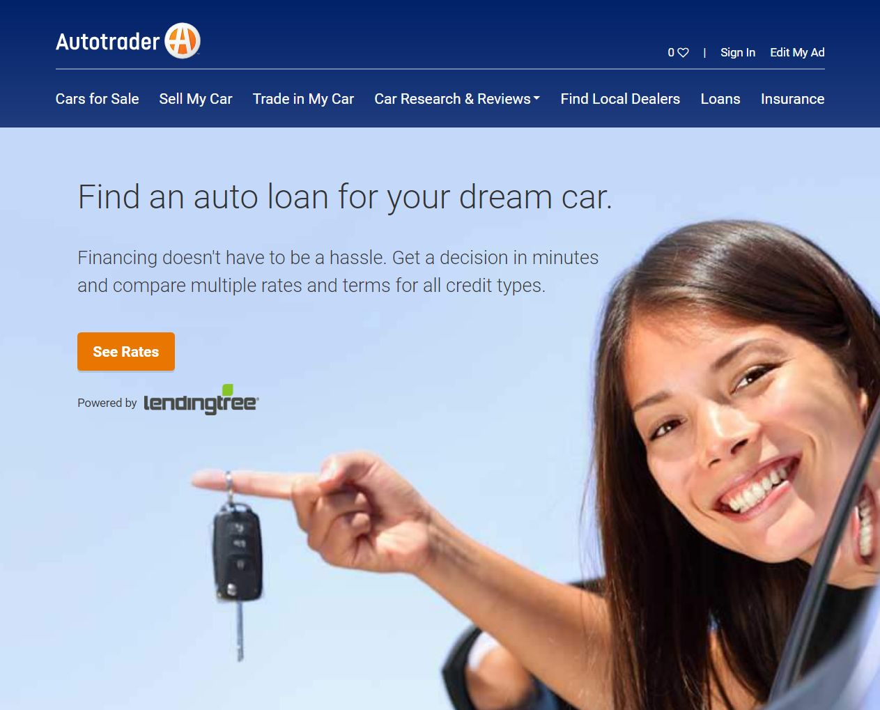 Autotrader, Kelley Blue Book Team With LendingTree