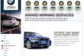 BMW Group Financial Services Offers New Content on Facebook