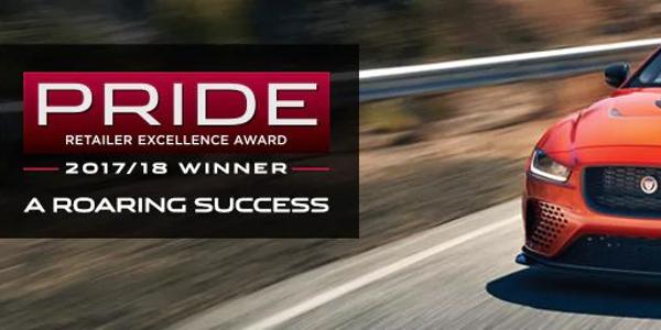Jaguar Columbia Receives Pride of Jaguar Award