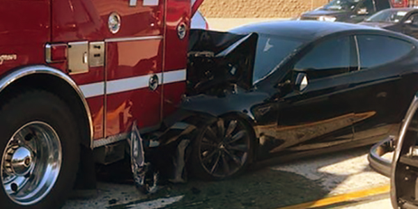 Tesla vs. Firetruck: Feds to Investigate Latest Incident