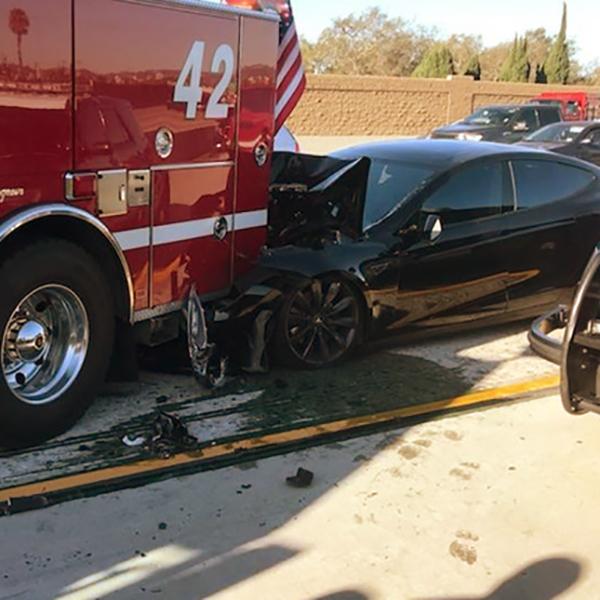 Tesla vs. Firetruck: Feds to Investigate Latest Incident