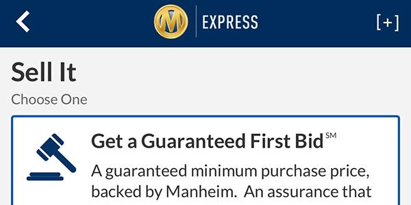 Manheim Releases Mobile App for Dealers
