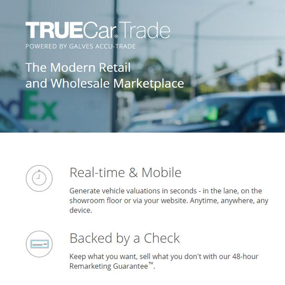 TrueCar Set to Launch Trade Valuation Platform