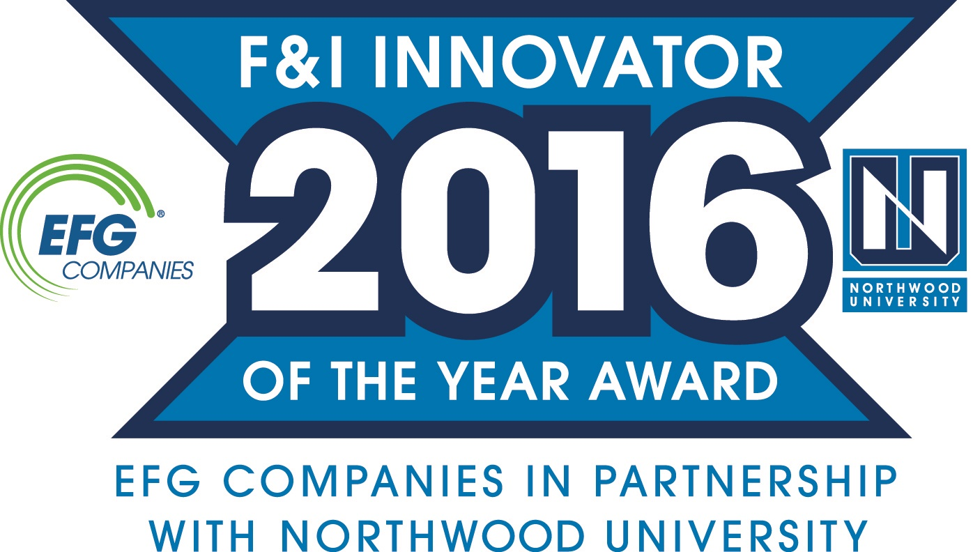 EFG Companies Announces Second Annual F&I Innovator of the Year Competition