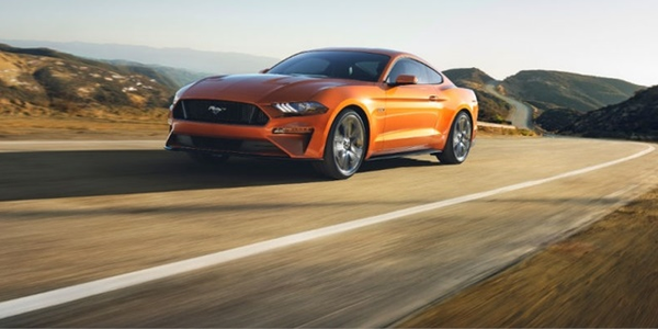 Photo of Ford Mustang courtesy of Ford