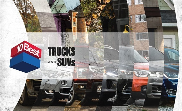 New York Automotive Enthusiast Magazine Car And Driver Today Unveiled Its First Ever 10best Trucks Suvs List Recognizing 2017 S Best
