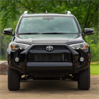 The 4Runner is one of four Toyota vehicles that earned a Best Resale Value Award from Kelly Blue Book for the 2017 model-year. Photo courtesy Toyota Motor Sales USA Inc.
