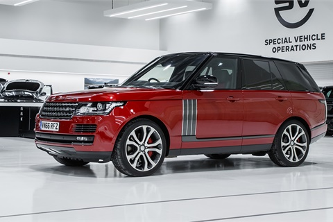 The 2017 Land Rover Range Rover sits at the top of the list of luxury full-size SUVs that earned high marks for owner loyalty in IHS Markit's latest ranking. Photo courtesy Jaguar Land Rover